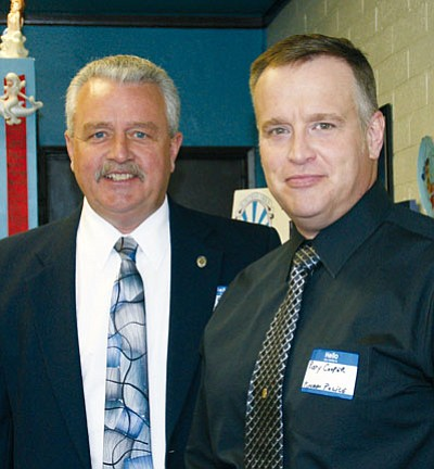 Miner<BR> Kingman Police Chief Robert DeVries and Deputy Chief Rusty Cooper are looking for a few good men and women to fill out the ranks.