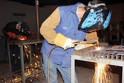 Courtesy<BR> MCC's welding program is now the only AWS-certified Accredited Test Facility in Arizona and one of 70 nationwide.