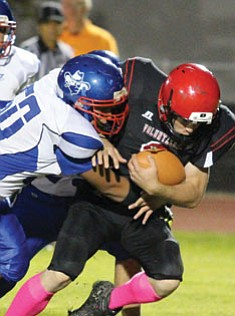 Alan Choate/Miner. Lee Williams High Football action from Oct. 6