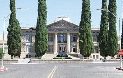 If Mohave County moves out of its historic courthouse in downtown Kingman, will anyone move in? (JC AMBERLYN/Miner)