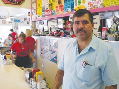 Armando Jimenez is one of several downtown Kingman business owners hoping for a bonanza when the Route 66 International Festival comes to town. (HUBBLE RAY SMITH/Miner)