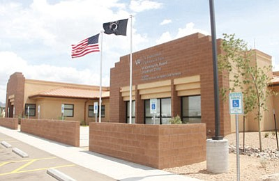 The new Veterans Administration clinic is on Hualapai Mountain Road in Kingman. (JC AMBERLYN/Miner)