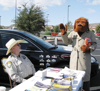 Members of the Mohave County Sheriff's Office Posse take part in a recent event. (Courtesy)
