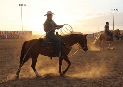 The Sky Duey Scholarship Fund Roping Event at the Castle Rock Arena is taking place  during the festival. Check the listings for times and dates. (JC AMBERLYN/Miner)