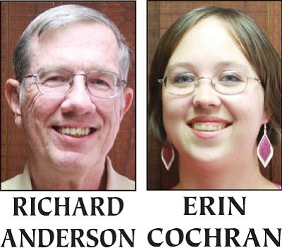 Richard Anderson and Erin Cochran are competing to be Kingman's next mayor.