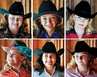Top row (l to r): Haley Olsen, Jessica Smith, Jonnie Blake<BR> Bottom row (l to r): Lisa Boody, Maria Davis, Sarah Moulder