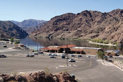 Willow Beach, in the Lake Mead National Recreation Area on the Arizona side of the Colorado River, shown here in a file photo from 2011. (MOHAVE COUNTY/Courtesy)