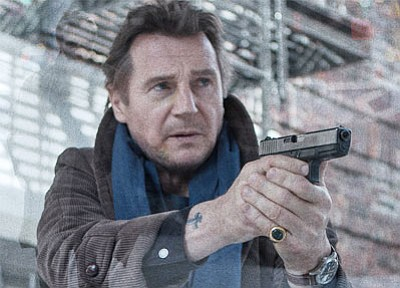 Liam Neeson in 'A Walk Among the Tombstones,' a Universal Pictures release. (Courtesy)