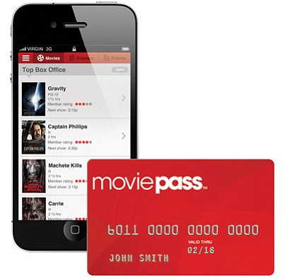 Courtesy<BR>MoviePass subscribers will need a smartphone and a desire to see several movies a month. A service such as this one could help reverse the slide in theater attendance caused by everything from sequel fatigue to those awesome home theater systems.