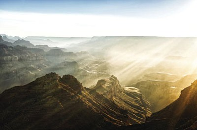 The iconic Grand Canyon, top, has seen a surge in visitation in recent years. (Courtesy)