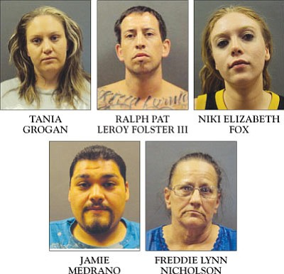 A Bullhead City murder led to more arrests for drugs and other offenses