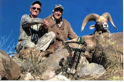 Don Oostenick with his Unit 15D ram in 2010. (Courtesy)