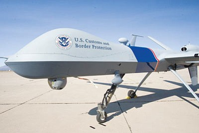 An audit of the Border Patrol's unmanned aerial vehicle program determined that the endeavor overpromised and underperformed, and that it should not be expanded. (Courtesy)