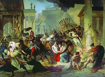 Genseric sacking Rome. (Courtesy)