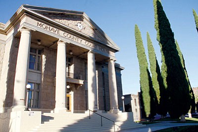 JC AMBERLYN/Miner<BR> The Mohave County Supervisors voted 4-1 Tuesday in support of a $25 million expansion of the existing downtown courthouse.