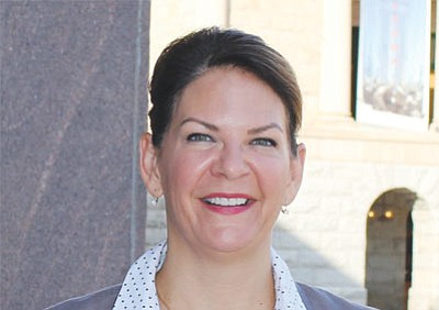 State Sen. Kelli Ward, R-Lake Havasu City, co-sponsored a bill that would allow candidates for public office to request that their home addresses remain secret. She said the change would keep candidates safer. (SOPHIA KUNTHARA/Cronkite News)