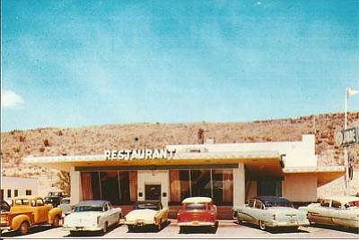 A 1950s Postcard Of The Jade Restaurant Building Still Stands On Andy Devine Next
