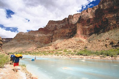 The Colorado River and its tributaries, like the Little Colorado here, generate an estimated $1.4 trillion in economic activity a year throughout the states in the watershed. The study was commissioned by Protect the Flows, a coalition of businesses in the region that rely on the river. (File Photo by Alicia Burtner/USGS)