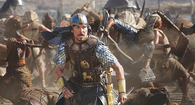 Christian Bale in 'Exodus: Gods and Kings.' (Courtesy)