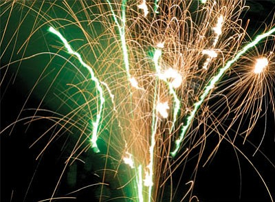 Kingman residents might have to go out of town to enjoy a fireworks show this Fourth of July. The Mohave County Fairgrounds Board won't host the event and the City Council might not agree on whether to fund the annual show. (File photo)