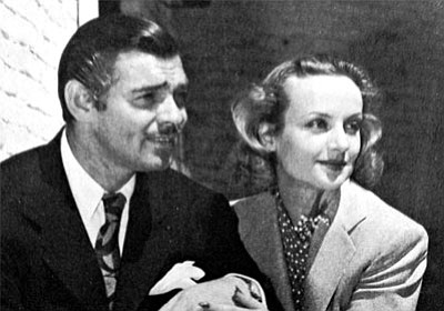 Clark Gable and Carole Lombard in 1939, shortly after their honeymoon. (Courtesy)