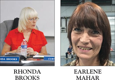 Rhonda Brooks, Earlene Mahar