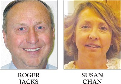 KUSD's Roger Jacks; KAOL's Susan Chan