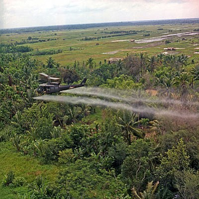 Agent Orange was a defoliant used during the Vietnam and Korean wars. (Courtesy)