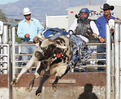 A rodeo will be part of the program when the inaugural Best of the West on Route 66 Festival opens in Kingman in September. (JC AMBERLYN/Miner)