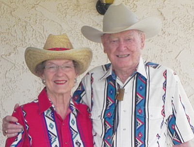 Les and Lyndal Byram are the grand marshals for the Andy Devine Days Parade scheduled for Sept. 26. (Courtesy)