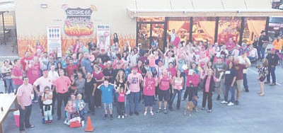 The 2014 Pink Pig Out was a huge success (no pun intended). (Miner)