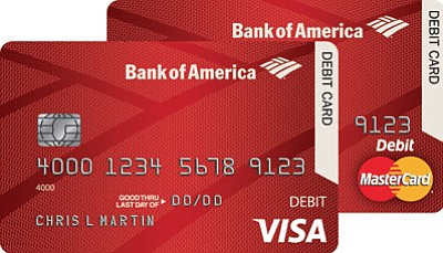 A close-up of the EMV chip embedded in new debit and credit cards. (Courtesy)