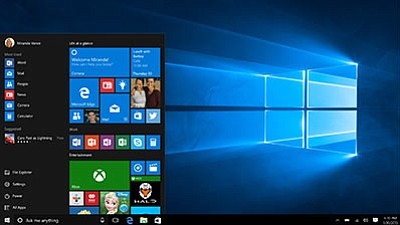 Windows 10 restores the Start menu. (Microsoft/Courtesy)