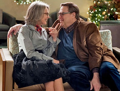 "Diane Keaton and John Goodman in ""Love the Coopers""<BR>(CBS Films/Lionsgate)"