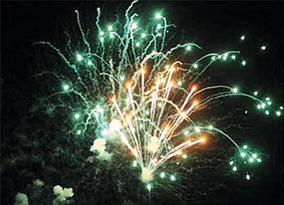 The local defendants in a lawsuit stemming from a 2013 fireworks accident at the Mohave County Fairgrounds have all been dismissed from the case, but the future of Kingman's fireworks show is unknown. (ALAN CHOATE/Miner)