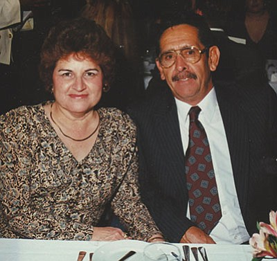 Courtesy<BR>Floyd & Jeanette (Sandoval) Tapia