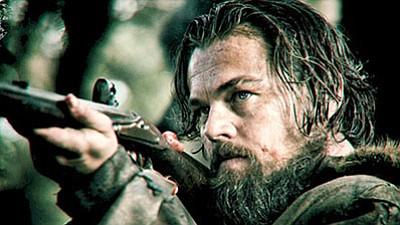 "Leonardo DiCaprio in ""The Revenant""<BR>(Twentieth Century Fox)"