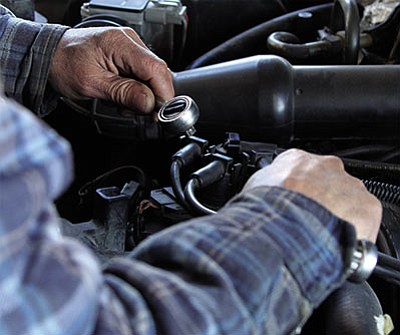 Though complaints about automotive repair weren't first on the Better Business Bureau's list of concerns for Mohave County, it was one of the top categories. Most disputes are resolved, the organization reported. (JC AMBERLYN/Miner)