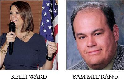 Kelli Ward, Sam Medrano