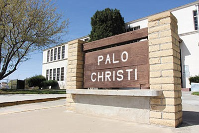 "The city could turn the historic Palo Christi School into a ""new"" City Hall if a proposal from City Manager John Dougherty is acted upon.  (ALAN CHOATE/Miner)"