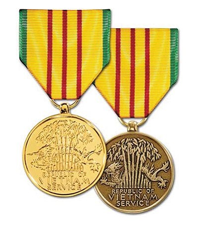 The Vietnam Service Medal.
