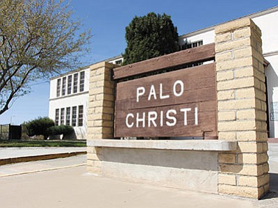 The city of Kingman could turn the historic Palo Christi School into a city complex if the city and the Kingman Unified school district can make a deal. (ALAN CHOATE/Miner)