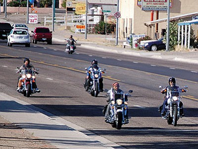 The annual Laughlin River Run starts today and that means drivers need to keep a sharp eye out for the thousands of motorcyclists in the region for the next five days. (Courtesy)