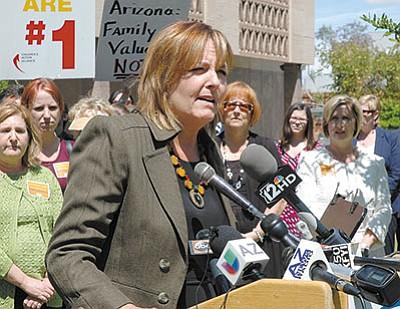 State Rep. Regina Cobb, R-Kingman
