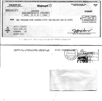 "The check sent to a Kingman resident is part of a popular scam that often targets people looking for work.<br /><br /><!-- 1upcrlf2 -->Western Union is well aware of the ""secret shopper"" scam and others that make use of the money-sending service. All of them are detailed on their website: www.westernunion.com/us/en/fraudawareness/fraud-types.html<br /><br /><!-- 1upcrlf2 -->For the most part, these scams originate overseas, making it difficult or impossible for U.S.-based law enforcement to track the con artists. The best defense is knowledge and a healthy dose of skepticism. The IRS will not call you and demand immediate payment. If a caller says your grandson is in a Mexican jail and needs bail money, check in with your grandson first before you do anything else. And if an offer comes along where money magically drops in your lap, it may be too good to be true. The Better Business Bureau maintains a database of scam reports that you can check out: www.bbb.org/scamtracker"