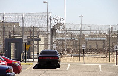 The Arizona Department of Corrections will ask the state to purchase the privately operated Arizona State Prison-Kingman in order to free up money for raises, save on interest payments. (JC AMBERLYN/Miner)