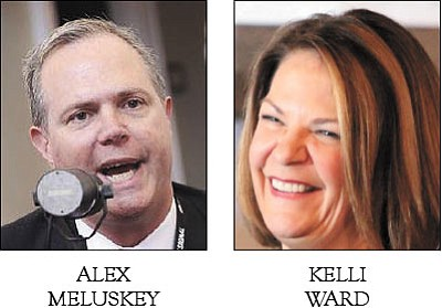 Alex Meluskey, Kelli Ward