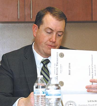 Treasurer Jeff DeWit
