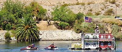 The Mohave County waterways were relatively calm over the Fourth of July holiday weekend. (Miner/File photo)