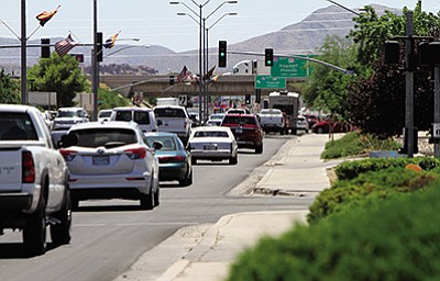 A tip of the hat to Desert Construction and the city of Kingman for an efficient, traffic- and business-friendly asphalt upgrade of Stockton Hill Road. That was $742,000 well spent, and daytime travelers were hardly impacted by the work, which was mostly done after hours. JC AMBERLYN/Miner